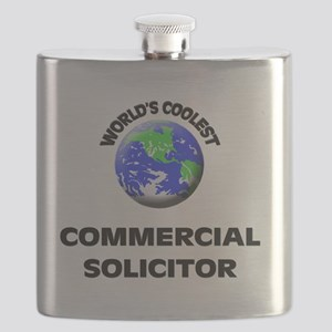 World's Coolest Commercial Solicitor Flask