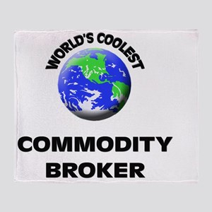 World's Coolest Commodity Broker Throw Blanket