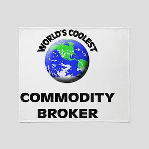 World's Coolest Commodity Broker Throw Blanket