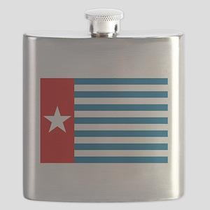 Pree Papua Flag Flask