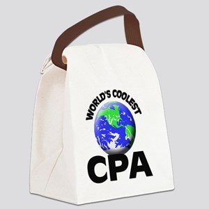 World's Coolest Cpa Canvas Lunch Bag