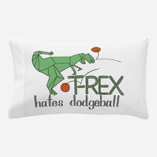 TRexDodge Pillow Case