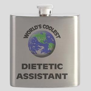 World's Coolest Dietetic Assistant Flask