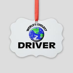 World's Coolest Driver Picture Ornament