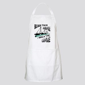 I Walk The Line Apron