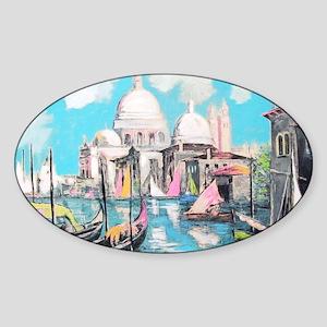 Design #26 Venice DEsign1 Sticker (Oval)