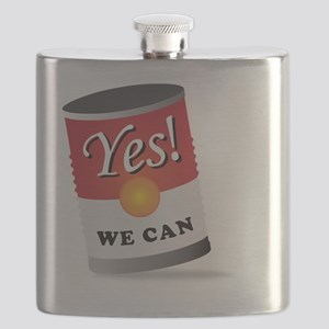 yes we can! Flask