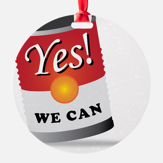 yes we can! Ornament