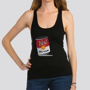 yes we can! Racerback Tank Top