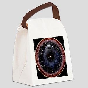 Starry Gnosis Mandala Canvas Lunch Bag
