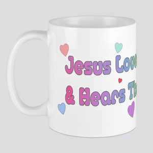 Jesus Loves Amputee/ Prayer Mug