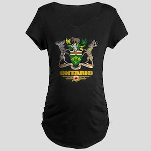 Ontario COA Maternity Dark T-Shirt