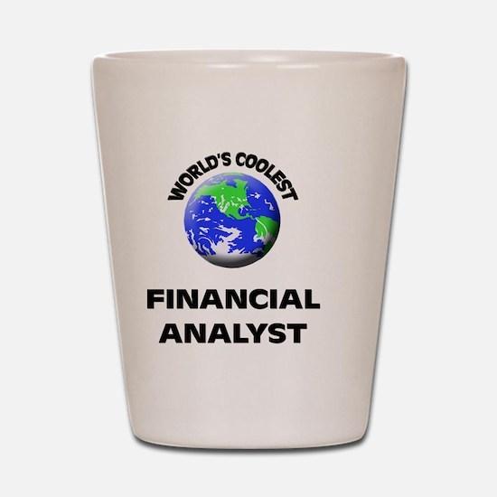 World's Coolest Financial Analyst Shot Glass