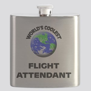 World's Coolest Flight Attendant Flask