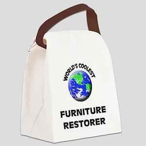 World's Coolest Furniture Restore Canvas Lunch Bag