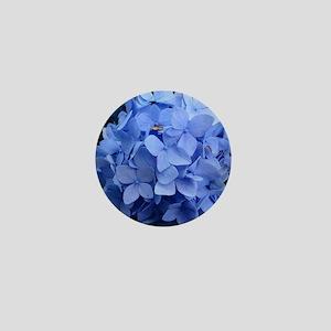 Blue Violet Hydrangea Mini Button
