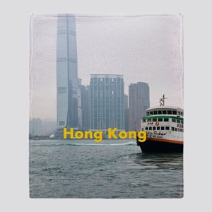 HongKong_5.415x7.9688_iPadSwitchCase Throw Blanket