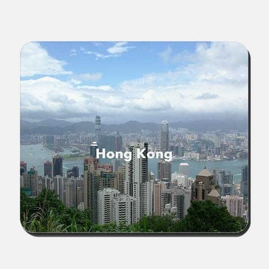 hongkong_8.56x7.91_gel_hongkongfromvicto Mousepad