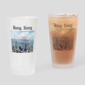 HongKong_19x19_HongKongFromVictoria Drinking Glass