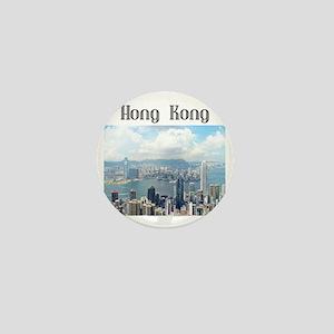 HongKong_19x19_HongKongFromVictoriaPea Mini Button