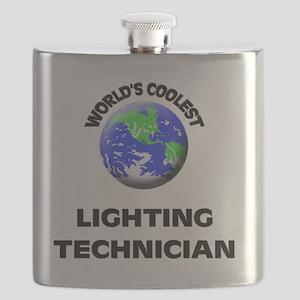World's Coolest Lighting Technician Flask