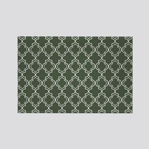 Moroccan TnT Placemat W Dk Loden Rectangle Magnet