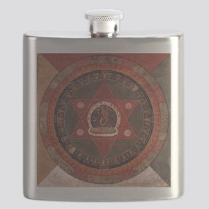 Tibetan Mandala Flask
