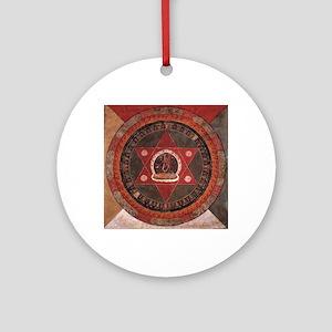 Tibetan Mandala Round Ornament
