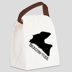 Dragon-Tude Canvas Lunch Bag