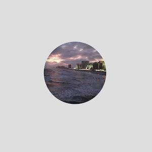 Sunset in Atlantic City Mini Button