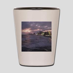 Sunset in Atlantic City Shot Glass