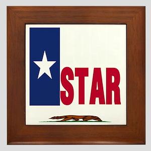 Lone Star Republic Framed Tile
