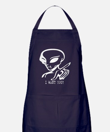 Alien Recruitment  Apron (dark)
