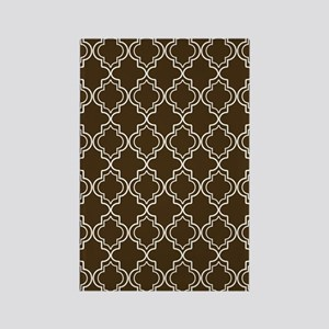 Moroccan TnT 3x5 W Brown Rectangle Magnet