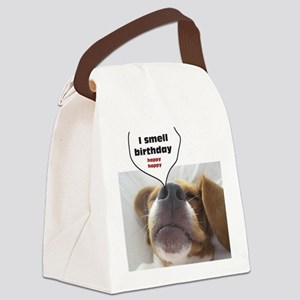 I smell birthday Canvas Lunch Bag