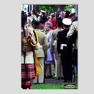 Queen Elizabeth of Englan Postcards (Package of 8)