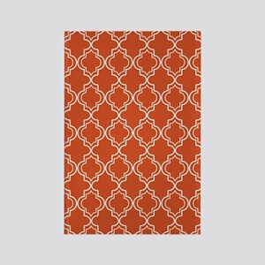Moroccan TnT 5x7 W Pumpkin Rectangle Magnet
