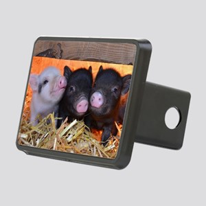 THREE LITTLE PIGS Rectangular Hitch Cover
