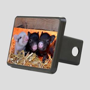 Three Little Piggies Rectangular Hitch Cover