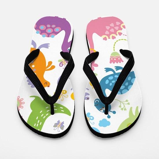 showercurtain712 Flip Flops