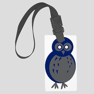Baby Owl Large Luggage Tag