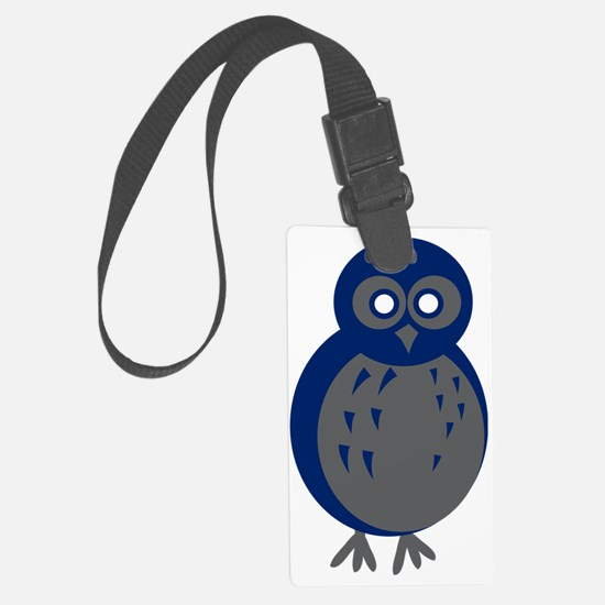 Baby Owl Luggage Tag