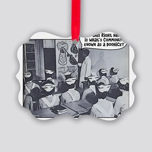 Nursing Class Instructor Doohicky Picture Ornament