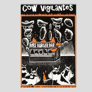 Cow Vigilantes Postcards (Package of 8)