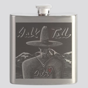 Walk Tall With Heart Flask