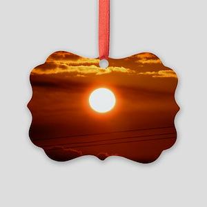 Maui - Mahalo Maui - Sun Set Picture Ornament