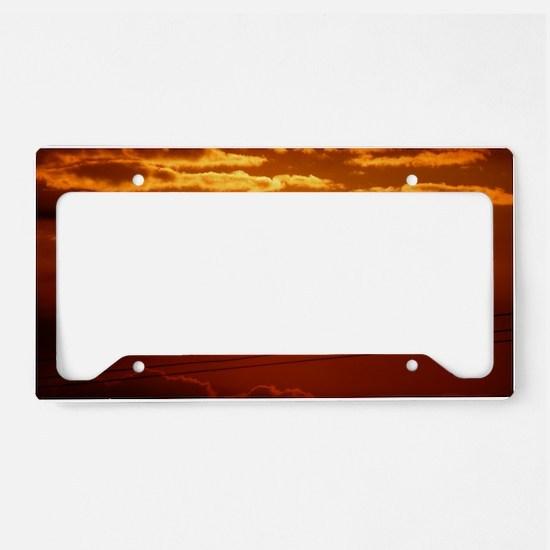 Maui - Mahalo Maui - Sun Set License Plate Holder