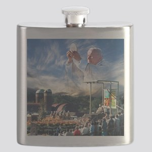 Pope John Paul II  Mass in the Heartland of  Flask