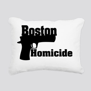 Boston Homicide 1 Rectangular Canvas Pillow