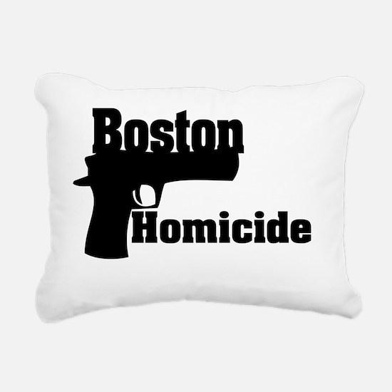Boston Homicide 1 Rectangular Canvas Pillow